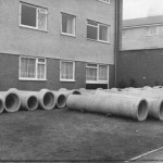 PH-O-5-21-5 - Albert Road flats new sewers - 1973