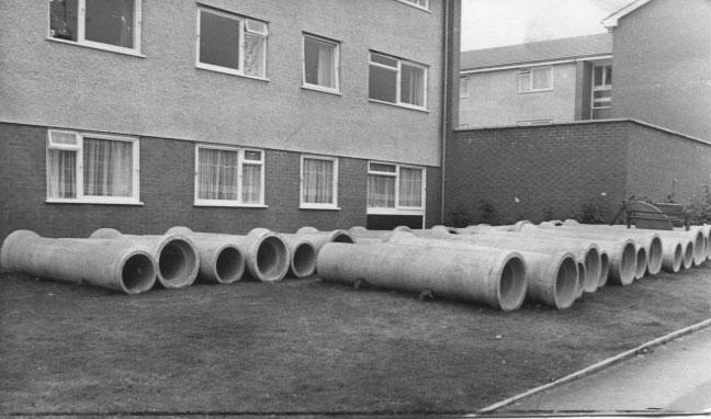 PH-O-5-21-5 - Albert Road flats new sewers - 1973