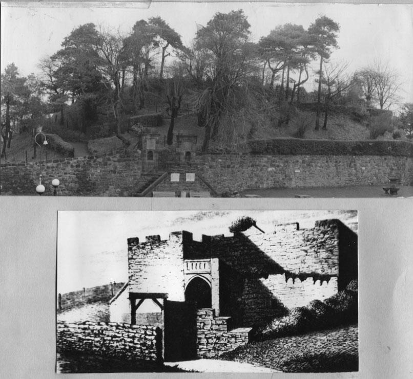 PH-O-5-46-5 - Castle Mound & Castle - no date
