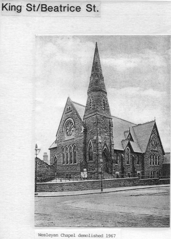 PH-O-5-53-3 - Wesleyan Chapel demolished 1967