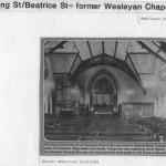 PH-O-5-53-4 - Wesleyan Chapel Interior- pre 1967