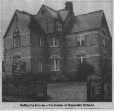 PH-O-5-57-4 - Holbache House - Oswestry School -