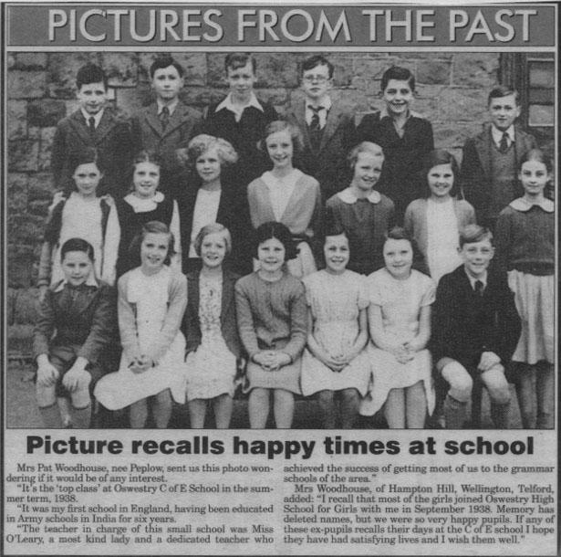 PH-O-5-57-5 - C of E School's top class - 1938