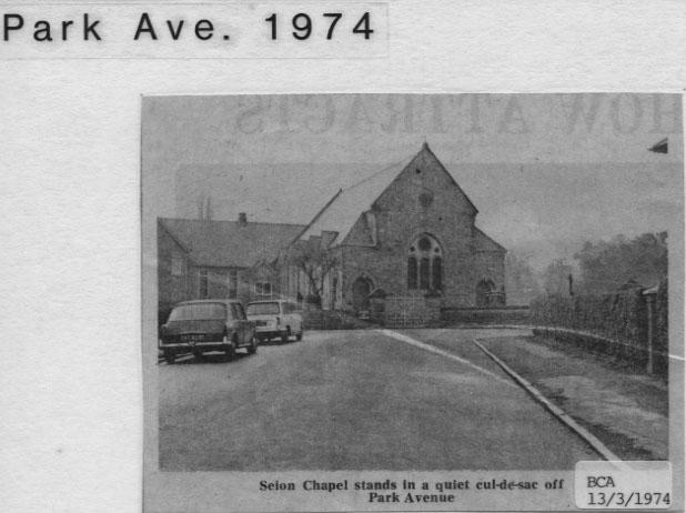 PH-O-5-60-3 - Seion Chapel - 1974