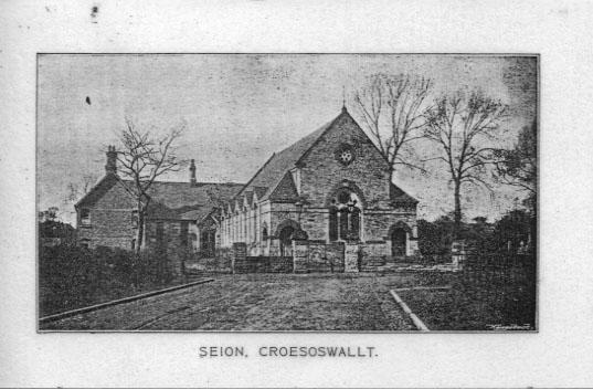 PH-O-5-60-4 Seion Chapel, Park Avenue, Oswestry