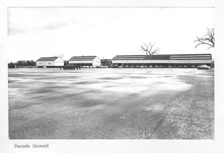 PH-P-30-2 - Park Hall Camp - Parade Ground 1973