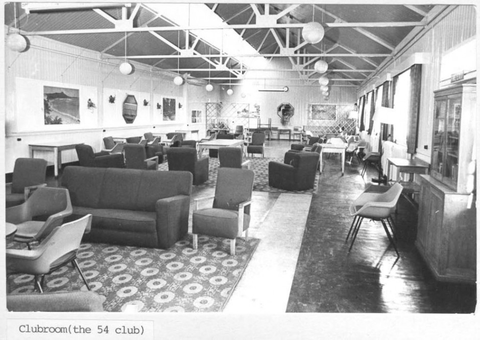 PH-P-30-3 - Park Hall Camp - Clubroom 1973