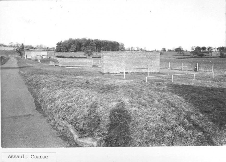 PH-P-30-5 - Park Hall Camp - Assault Course 1973