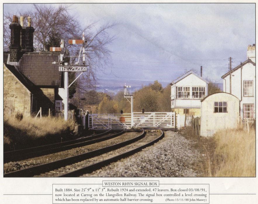 PH-R-15-3 - Weston Rhyn Signal Box