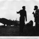 PH-R-3-2 - Spitfires and Airmen at Rednal Aerodrome (n.d)