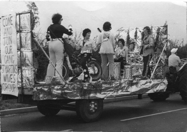 PH-S-2-13 - St Martin's Carnival – Wives Group as 'Gary Glitter &  his Roadshow' 1973