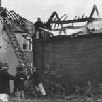 PH-S-2-9 - Fire damage at Yew Tree Farm, 1973