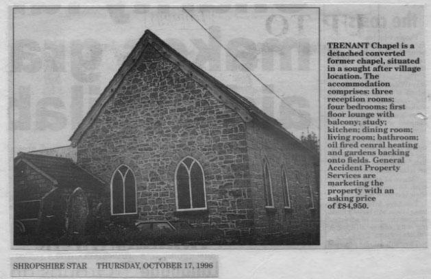 PH-T-13-1 - Trenant Chapel, Chapel Lane