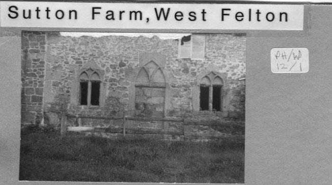 PH-W-12-1 - Sutton Farm showing old windows (n.d