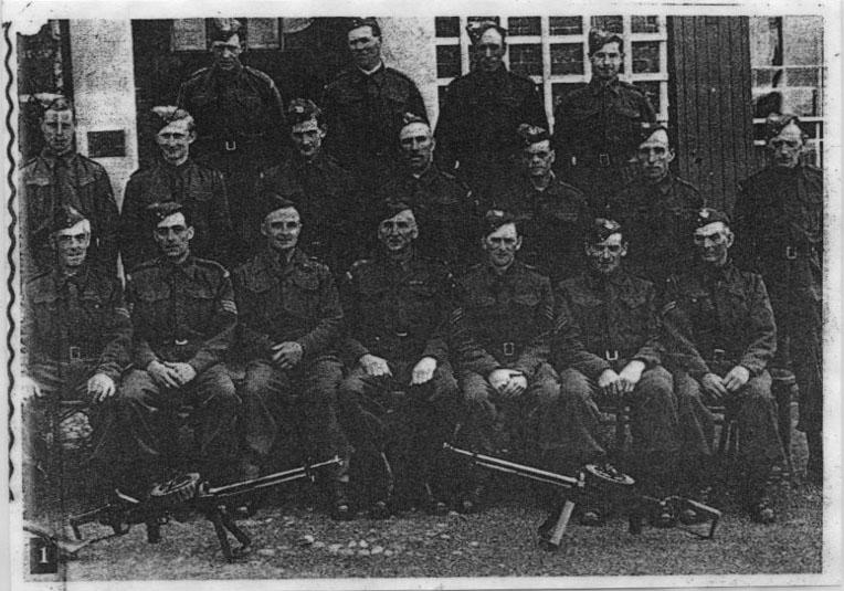 PH-W-12-2 -  Home Guard including Lt H Hollis