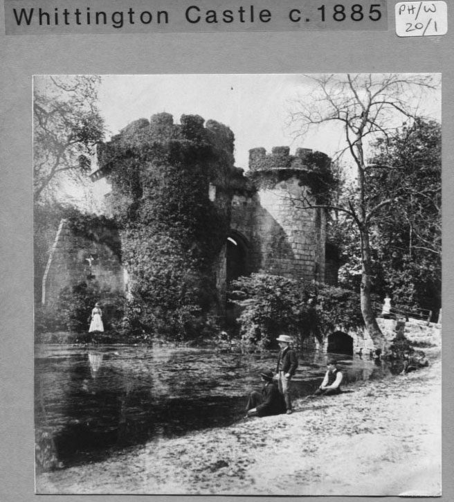 PH-W-20-1- Whittington Castle c1885