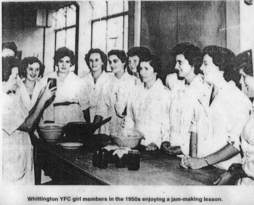 PH-W-20-10 - Whittington YFC jam making, 1950s