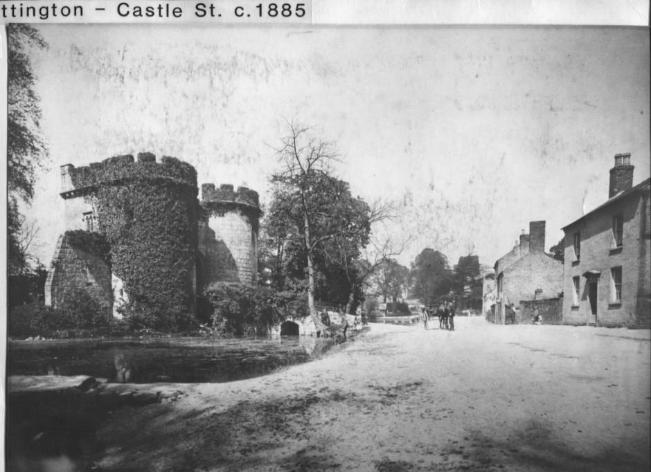 PH-W-20-2 - Castle Street, Whittington c1885