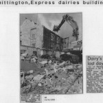 PH-W-20-5 - Express Dairies building being demolished 1992
