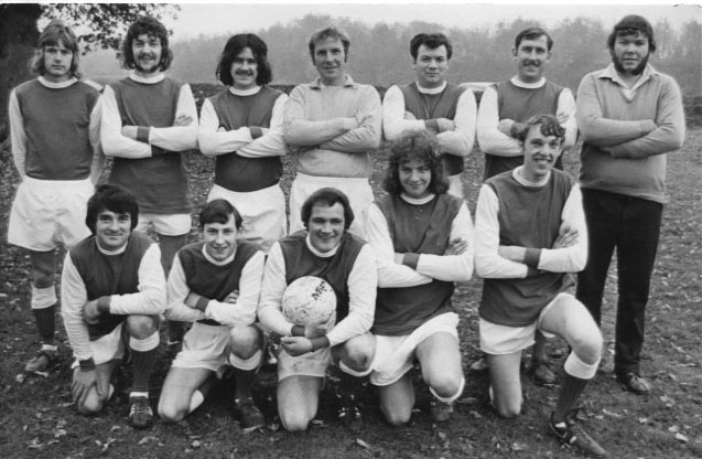 PH-W-20-6 - Whittington FC, Nov 1973