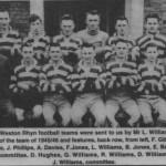 PH-W-39-2 - Weston Rhyn Football team, 1945-46