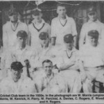 PH-W-39-5 - Weston Rhyn Cricket Club c1930s
