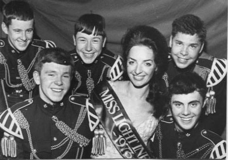 PR-T-16-1 - Rita Williams chosen as Miss Light Infantry 1973