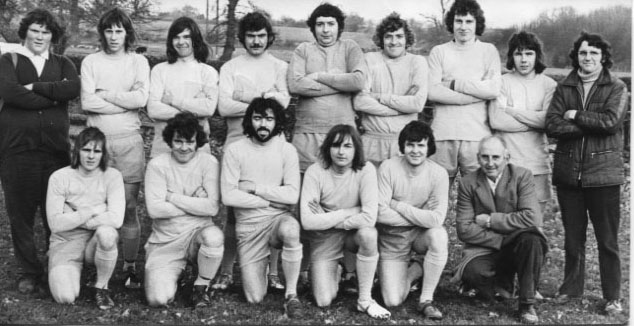 PR-W-6-1 - Frankton FC who played Llanymynech 5 Dec1973