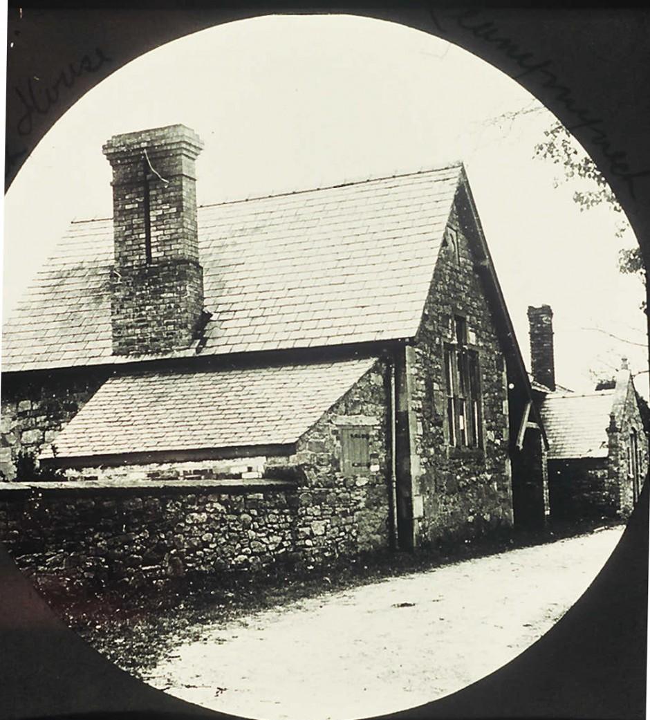 NM-L-19-27 - Llanymynech Church Hall once a school