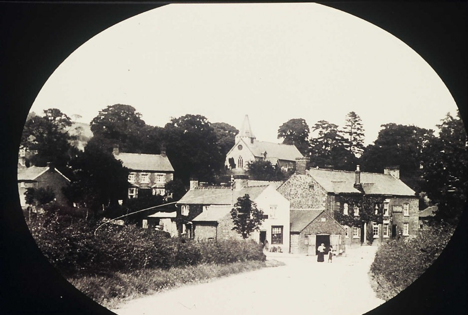 NM-L-19-42 - View of Llanymynech