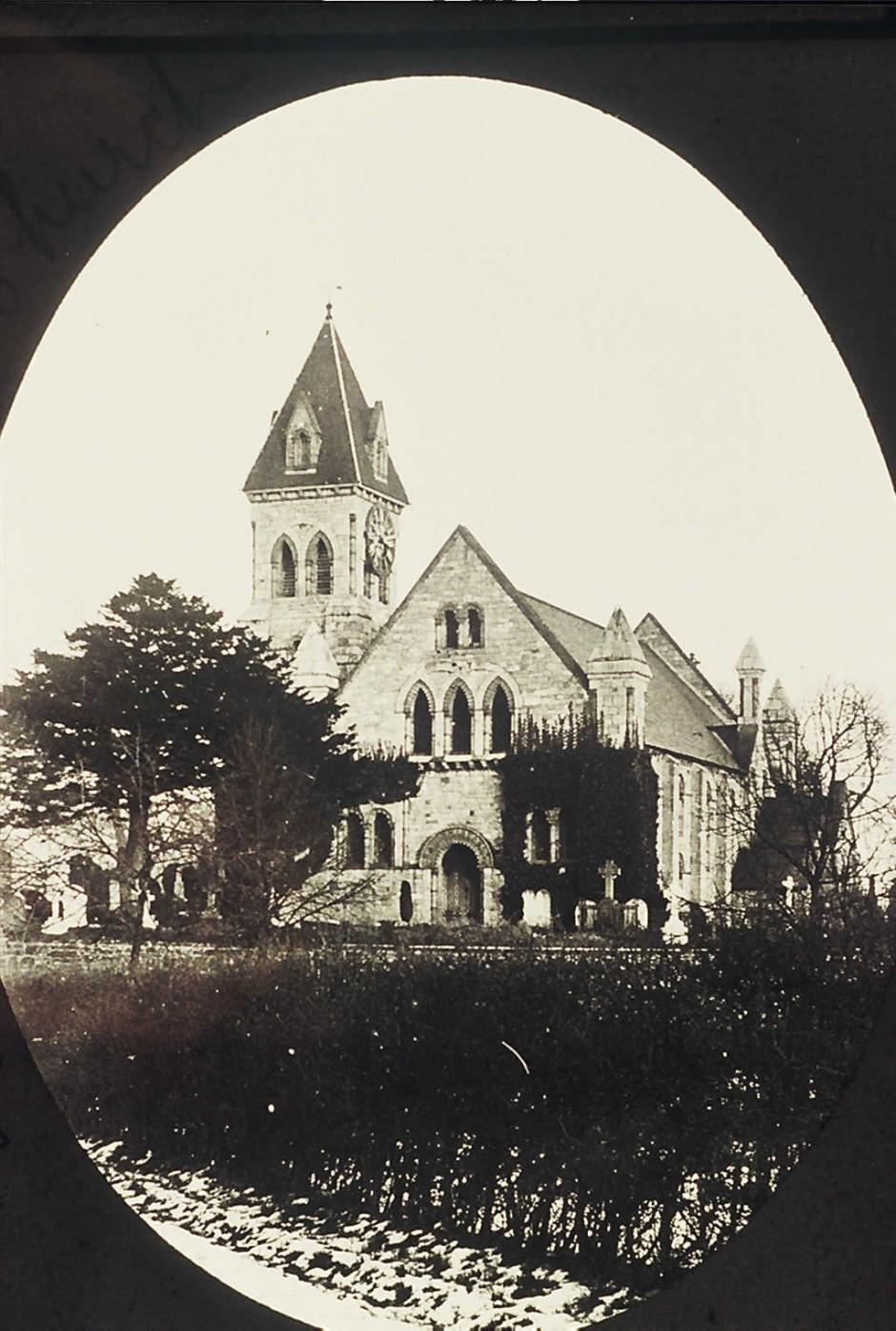 NM-L-19-43 - St Agatha's Church, Llanymynech