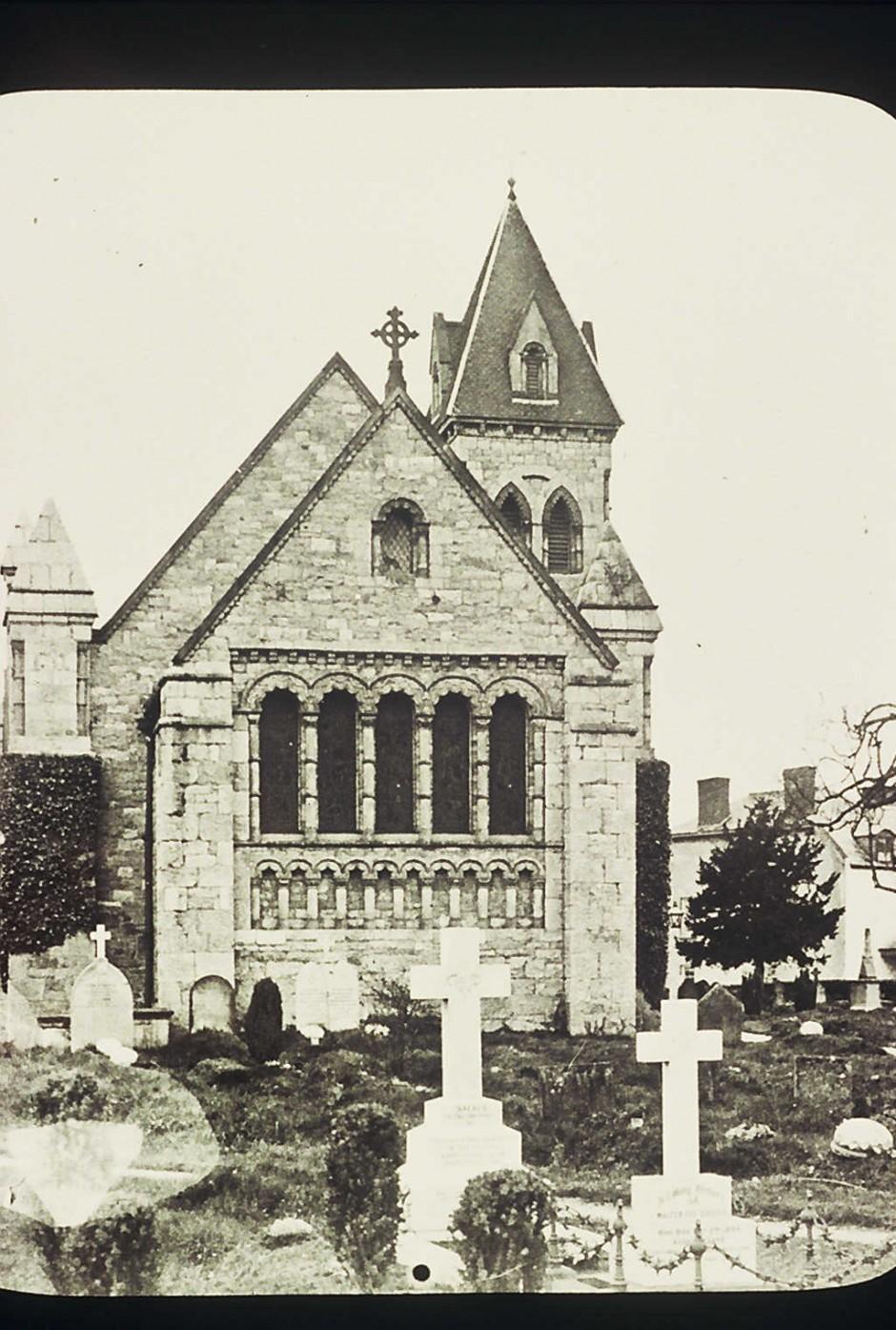 NM-L-19-45 - St Agatha's Church, Llanymynech