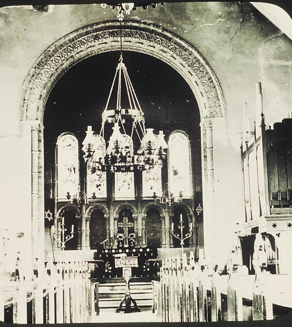 NM-L-19-47 - St Agatha's Church, Llanymynech