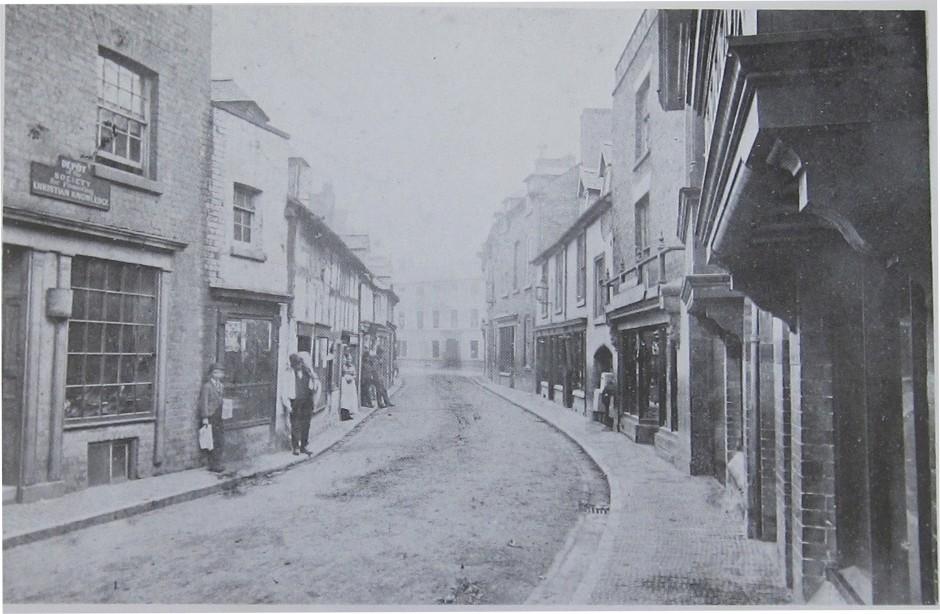 OSW-PH-5-7-30 - Cross Street c 1880