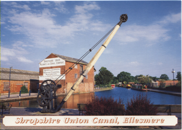PC-E-8-20-22- Shropshire Union Canal Wharf 1990's