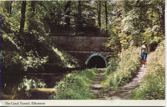 PC-E-8-20-24 - Views around Shropshire -The Canal Tunnel, Ellesmere