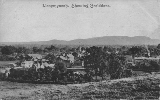 PC-L-19-15 - Llanymynech- showing Breidden Hills