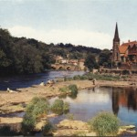 PC-L-38-5 - Llangollen from the River Dee