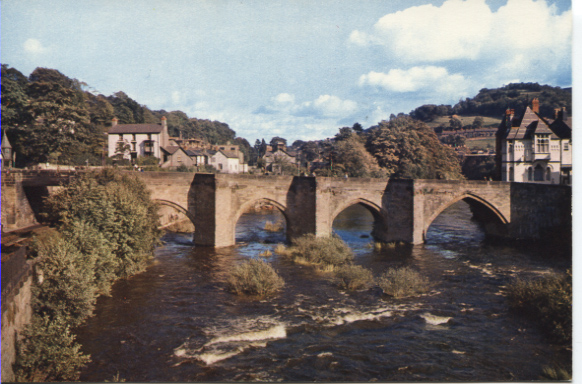 PC-L-38-6 - Llangollen Bridge & River Dee