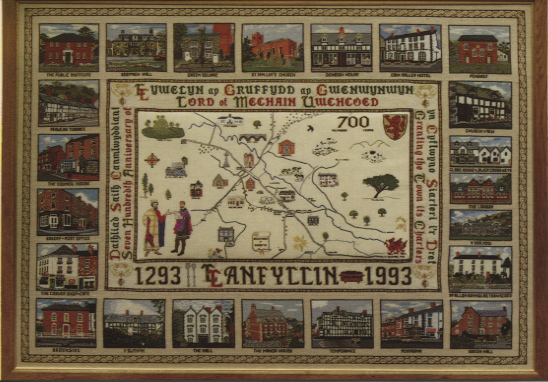 PC-L-39-13 - 1993 Tapestry 700th Anniversary of Town Charter