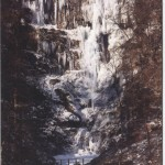 PC-L-42-14 - Pistyll Rhaeadr in winter - 1990's