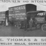 PC-O-5-57-9 - J E Thomas & Sons, Removal Firm, Welsh Walls, Oswestry