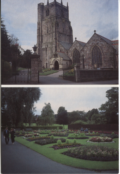 PC-O-5-6-126 - Parish Church & Cae Glas Park c1990's