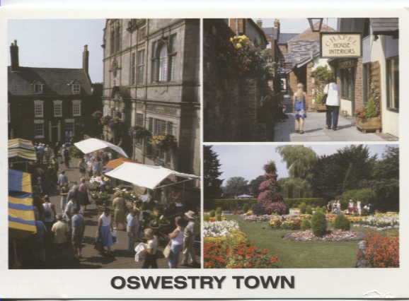 PC-O-MIS-17 - Views of Oswestry c 2006