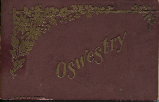 PC-O-MIS-20 - Booklet of Oswestry Postcards - 7 September 1898