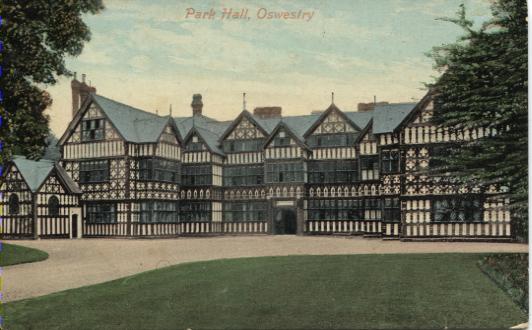 PC-P-2-8 -   Park Hall c1900