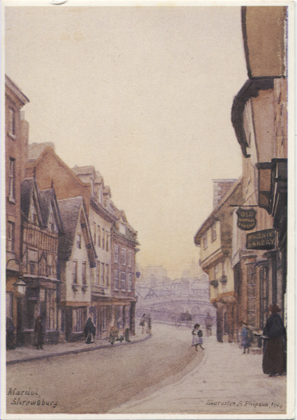 PC-S&B-56-10 - View of Mardol, Shrewsbury