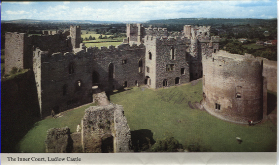 PC-S&B-56-13 - Inner Court, Ludlow Castle