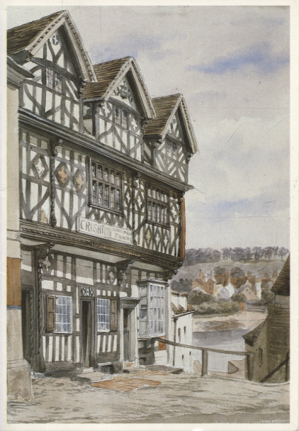 PC-S&B-56-16 - Bishop Percy's House, Bridgnorth