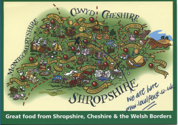 PC-S&B-56-19 - Food Map of Shropshire